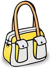 Genius_Baby Canvas Cartoon Shoulder Messenger Bag 2D Drawing 3D Handbag