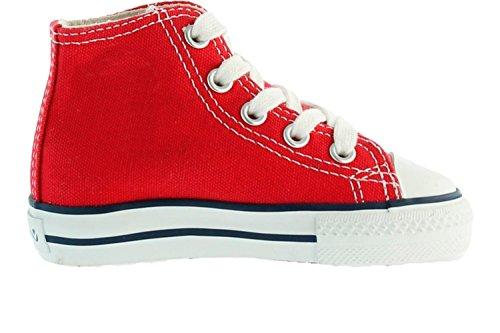 Victoria Zapatillas 06500 - Zapatilla Bota Basquet Rojo, Color Rojo, Talla 28