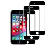 New Phoone - Protector de Pantalla iPhone 7 Plus / 8 Plus (5,5'') | Cristal Templado 9H [Máxima Protección] Antiarañazos, Antihuellas, Ultra Transparente - Instalación Fácil, Sin Burbujas - 3 Unidades