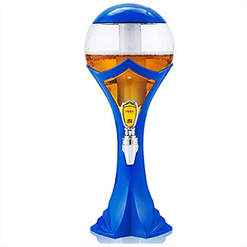 WDDLD Dispensador De Cerveza De 1,5 litros, con Grifo, Dispensador, Jirafa, Torre De Cerveza, Las Bebidas Son FáCiles De Limpiar, Muy Adecuado para Fiestas Y Juegos, Hogares Y Bares.
