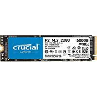 Crucial P2 500GB PCI-Express 3.0 x4 NVMe Internal Solid State Drive