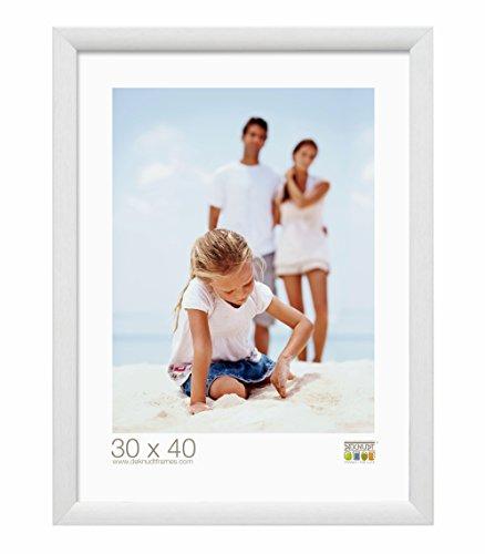 Deknudt Frames S54SF1 Cadre Photo Bois Blanc 15 x 23 cm