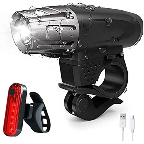 RAYPAL – Luz LED potente recargable impermeable – Juego de luces para...
