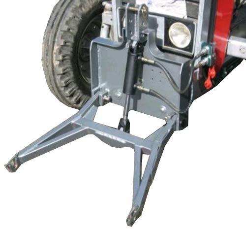 Baggerschaufel starr 80cm MS01 Aufnahme Radlader Minibagger Schaufel Schwarz