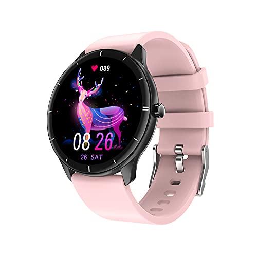 YYIXING Reloj inteligente Q21, IP68, resistente al agua, con pantalla HD de 1,28 pulgadas, podómetro, contador de calorías, pulsera deportiva Bluetooth para niños y adultos