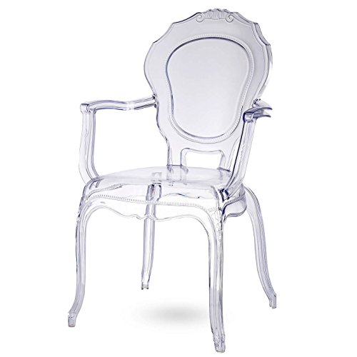 Damiware Broxster Stühle   Design Stühle Küche - Esszimmer - Wohnzimmer   Kristallklar Material   Brokant (Cristal)
