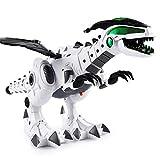 Forwei Kinder elektronische Dinosaurier Roboter Spielzeug, weiß Spray elektrische mechanische Dinosaurier Spielzeug intelligente Drachen Modell pterosaurus Dinosaurier Welt Spielzeug kinderspielzeug