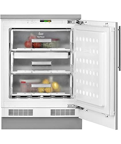 Teka | Congelador integrable bajo encimera | Defrost | Modelo TGI2 120 D | 1 puerta | Control electrónico | Blanco | Eficiencia enregética F | 818 x 59.5 x 54.5 cm