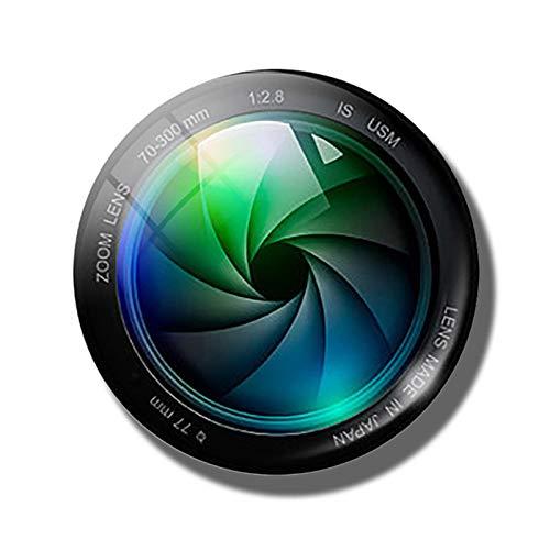HUIHU Lente de cámara 30MM imán de Nevera Foto fotógrafo Regalo cabujón de Cristal Pegatinas magnéticas para Nevera Soporte de Notas decoración del hogar