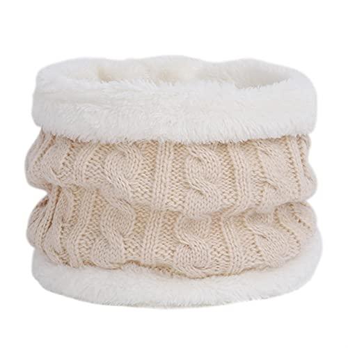 Bufanda de invierno para bebé de felpa, para bebé, niña, diseño clásico
