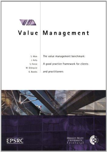 The Value Management Benchmark: Framework document