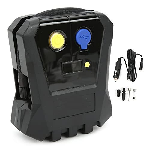Inflador de neumáticos, bomba de inflado, compresor de aire, bomba de aire digital, portátil, emergencia, inteligente, inflado de neumáticos para coche, motocicleta