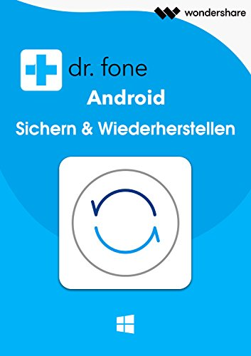 Dr.Fone Android -Daten Sichern (Backup)-(Product Keycard ohne Datenträger)