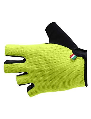 Santini Handschuhe MTB Unisex Erwachsene M Neongelb