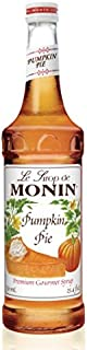 Monin Pumpkin Pie Syrup 750ml