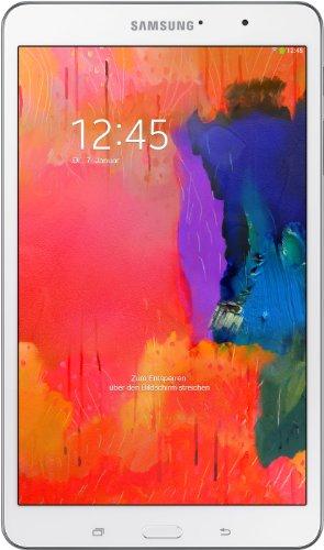 Samsung Galaxy Tab Pro T320 WiFi (21,3 cm (8,4 Zoll), Qualcomm, 2,3GHz, 2GB RAM, 16GB HDD, Android OS) weiß