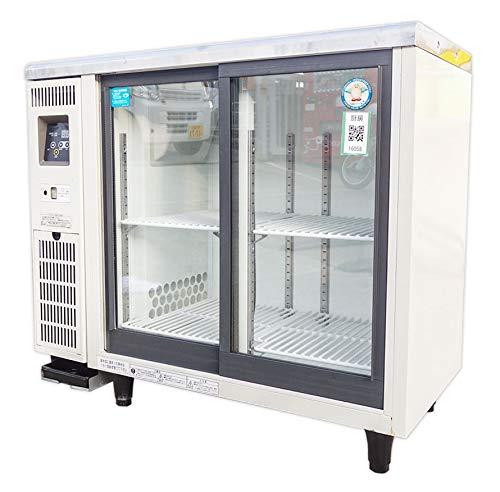 福島工業 スライド扉小型冷蔵ショーケース 139L【TGU30RE】 (販売単位:1台)