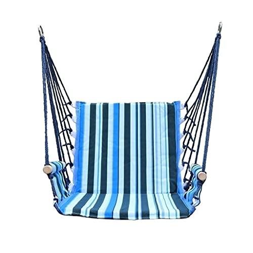 LZL Swing Portable Travel Camping Hängende Hängematte Swing Chair Canvas Hängematten für Kinder Erwachsene Studentin