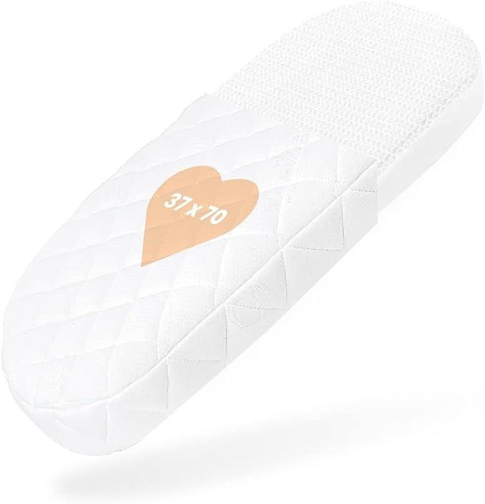 407 opinioni per BestCare Aero Materasso per Culla | 37 x 70 x 6cm | Aloe Vera Copri- Lavabile |
