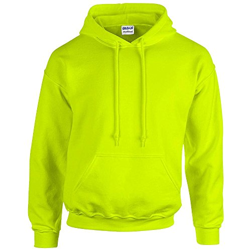Gildan - Unisex Kapuzenpullover 'Heavy Blend' , Safety Green, Gr. S