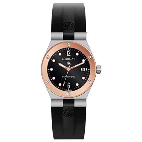 Reloj L.Bruat señora LB29 4409 Scaphandre Bisel Oro Rosa