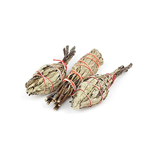 Palitos de Mancha a la Yerba Santa: 3 Varillas de Incienso de Yerba Santa | Incienso Natural para la purificación de la casa, Mejorar lucidez y Fortaleza | 3 Piezas 8-10 cm