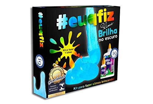 Slime, Kit 1 Brilha no Escuro Slime, Euqfiz, I9 Brinquedos