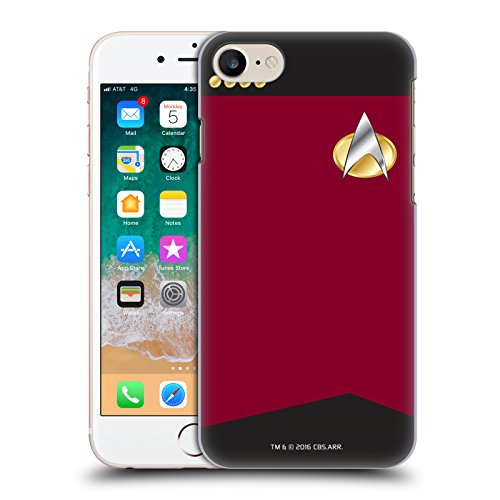 Head Case Designs Officially Licensed Star Trek Captain Uniforms and Badges TNG Hard Back Case Compatible with Apple iPhone 7 / iPhone 8 / iPhone SE 2020
