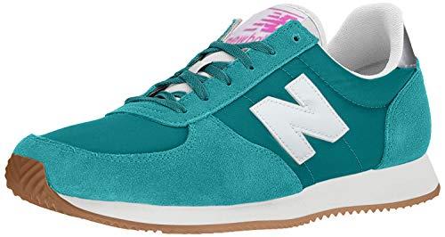 New Balance Women's 220 V1 Sneaker, AMAZONITE/WHITE, 5 W US