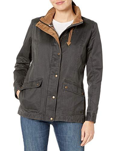 Legendary Whitetails Womens Saddle Country Shirt Jacket, Tarmac, Small