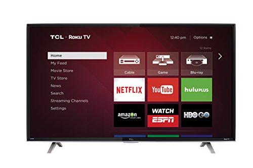 50-Inch 1080p Roku Smart LED TV (2015 Model) - TCL 50FS3850