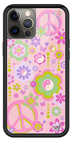 Wildflower Limited Edition Cases Compatible with iPhone 12 and 12 Pro (Peace n Luv)