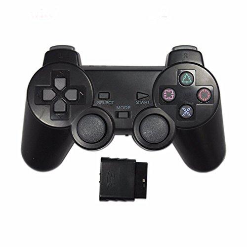 Manette de jeu Joystick Vibration Shock Joypad Manette de jeu sans fil transparente pour Sony Ps2 Controller pour Playstation 2 Console R25