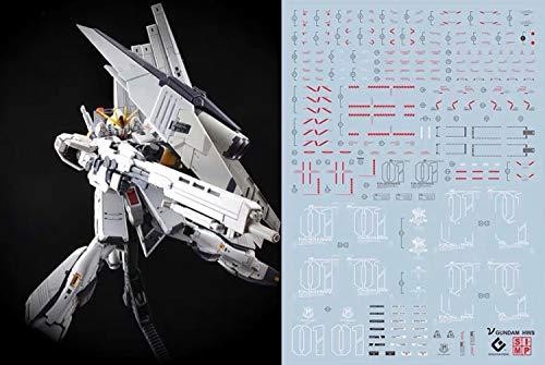 蛍光!! HG RG MG PG RE ガンダム ガンプラ ディテールアップ用水転写式デカール (RG 1/144 RX-93 νガンダム HWS拡張セット用)
