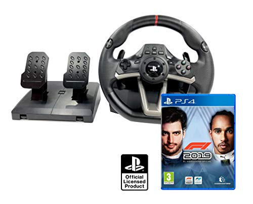 Volante PS4 Licencia Original Playstation 4 RWA Apex + Formula 1 2019 - F1 2019