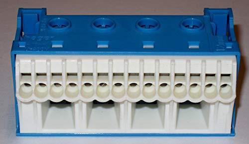Hager QUICK CONNECT N-Klemmblock KN18N, Blau, Weiß