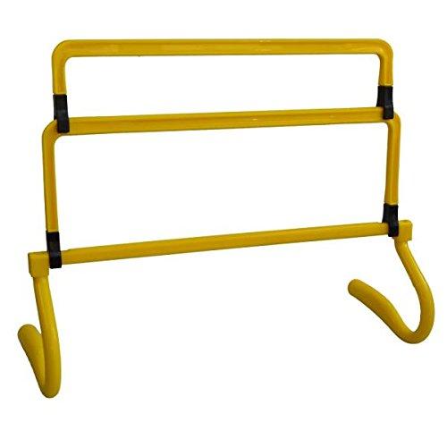 Explode Sports 5 er Hürden-Set verstellbar in 4 Höhen für Kinder-Hürden | Fußball | Training | Hunde | Agility Leichtathletik und Zirkeltraining