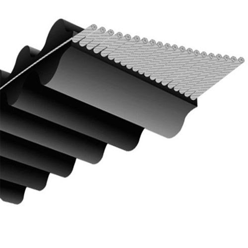 DS8M160020 : Courroie double crantage pour Tondeuses autoportées HONDA Modèle HF2213S ( 102 cm TWIN-CUT) - Courroie de coupe 1600RP- P8M20 - N° origine: CG35065600H0