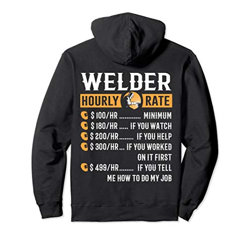 Funny Welder Hoodies