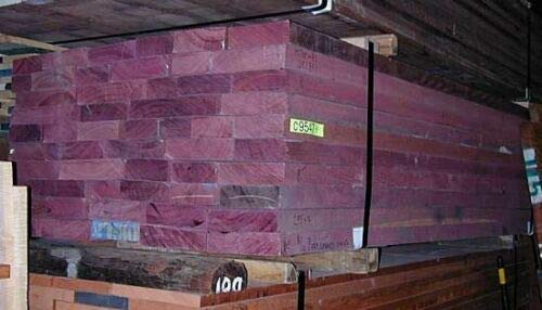 Purpleheart Exotic Wood Challenge the lowest price of Japan Lumber Boards 4 8 10 Board Over item handling ☆ Feet