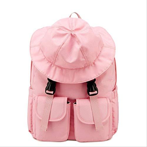 Schooltas, uniek design, rugzak, waterdicht, voor vrouwen, hoed, studenten, universiteit, boekbag, meerdere tassen