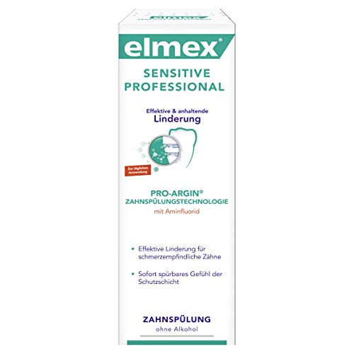 elmex SENSTIVE PROFESSIONAL Zahnspülung, 4er Pack (4 x 400 ml)