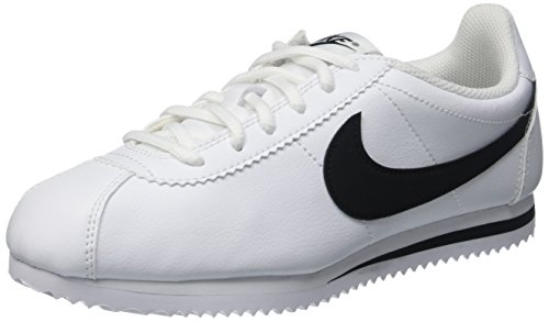 Nike Nike Cortez (GS) Sneaker, Weiß (White/Black), 40 EU