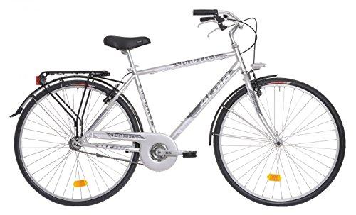 """Bicicletta da città da uomo Atala Sportiva grigio metallizzato 28"""""""