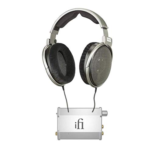 Sennheiser HD 650 Audiophile Dynamic Hi-Fi Stereo Headphone - Bundle with iFi Nano-iDSD PCM/DSD/DxD Battery Powered USB DAC Decoder