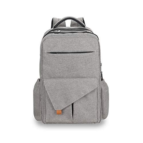 FH Rucksack-Baby-Wickeltasche, Intelligente Reiseaufbewahrungstasche/Wasserdichte Wickeltasche, Für Alle Notwendigkeiten Geeignet, Verbreiterter Schultergurt, Um Rückenschmerzen Zu Verhindern