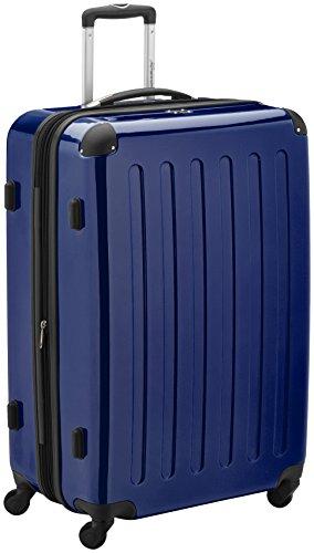 HAUPTSTADTKOFFER, Valigia Rigida Alex, TSA, Taglia 75 cm, 119 Litri, Colore Blu Foncé