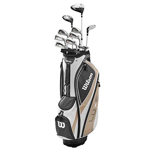 WILSON Luxe Damen Golf Komplettset 15teilig RH Graphit Golfset UVP 1099