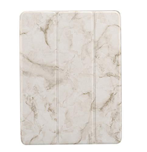 Huiran Adecuado para iPad Estuche de Cuero Plano de mármol de 11...