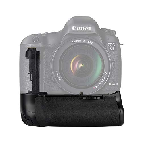 Meike MK-5D3 Professional Vertical Battery Grip for Canon EOS 5D Mark III 5D3 Camera as BG-E11